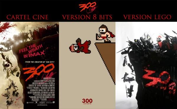 Carteles de cine: 300
