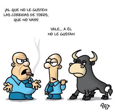 Los toros no quieren corridas