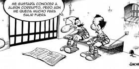 La corrupción no esta en la cárcel
