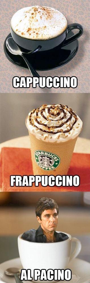 ¿Un café Al Pacino?
