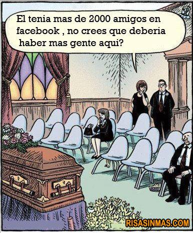 Funeral y los amigos de Facebook