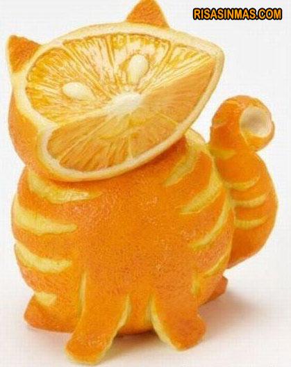 Garfield de Naranja