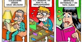 Distintas maneras de leer cómics