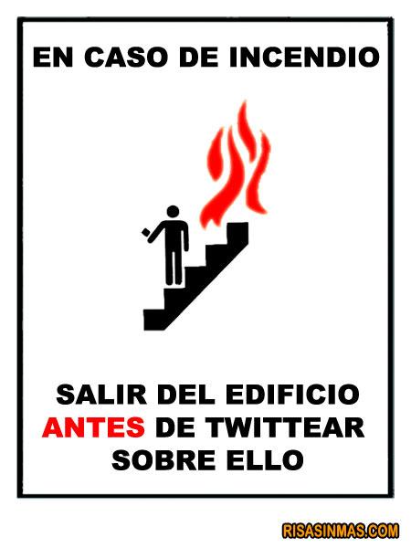 En caso de incendio...