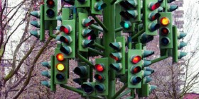 El semáforo del caos