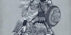 Angry Birds en los tiempos de David y Goliat