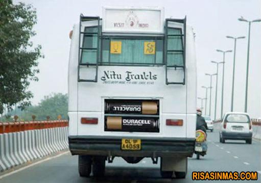 Autobus que funciona a pilas
