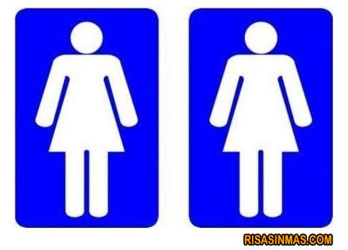 Imagenes De Baño Mujeres:Imágenes divertidas de Carteles