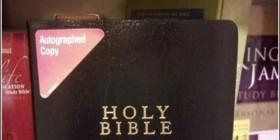 Biblia autografiada