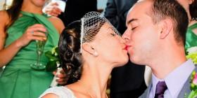 Photobomb en una boda