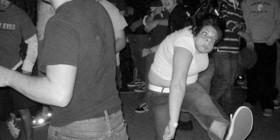 Ensayando para el baile del viernes