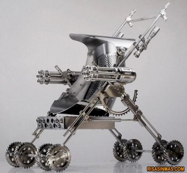 Carrito de bebé de Terminator