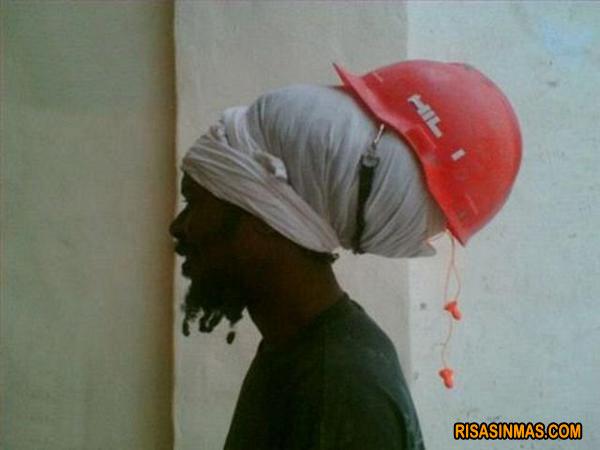 La seguridad de un casco bien puesto