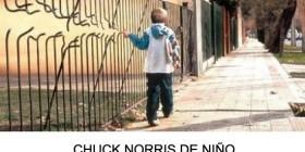 Chuck Norris de niño