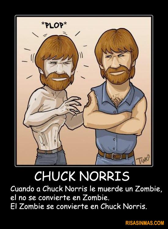 Chuck Norris y los Zombies