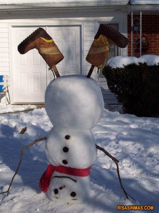 Muñeco de nieve ganador