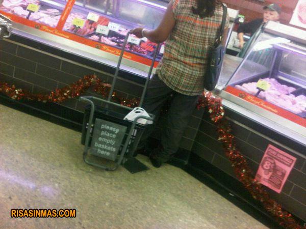 Despiste en el supermercado