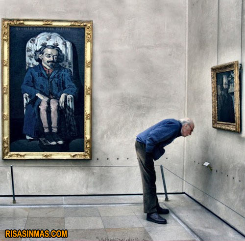 Mientras tanto en el museo...