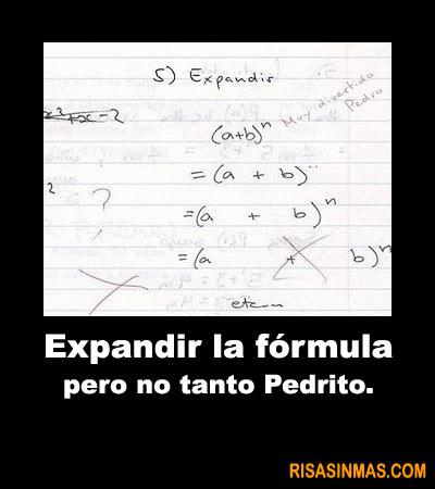 Expandir la fórmula