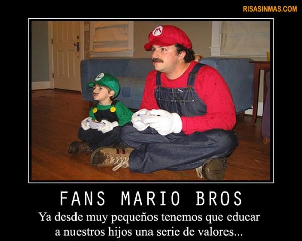 Fans de Mario Bros