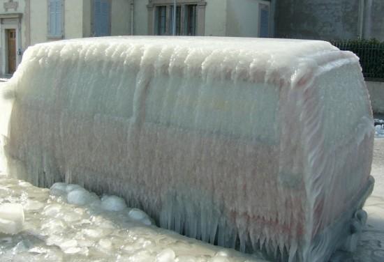 ¿Y tú te quejas de frío?