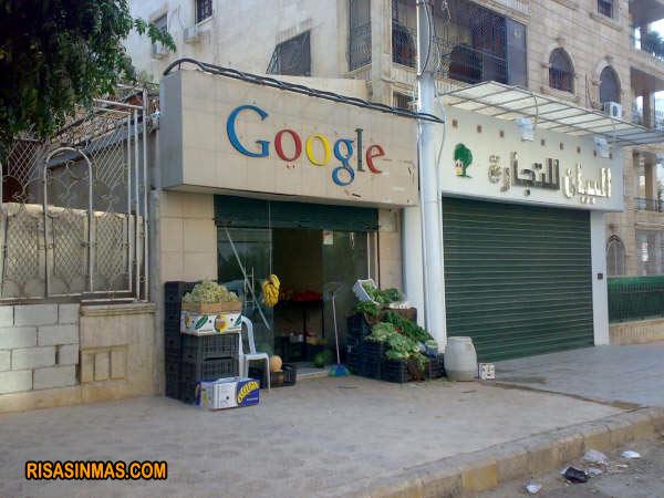 Google, frutas y verduras