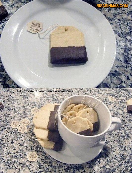 Bolsas de té comestibles