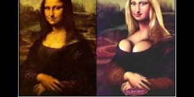 Gioconda made in Hollywood