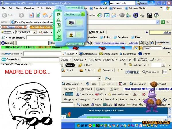 El Internet Explorer de tu madre