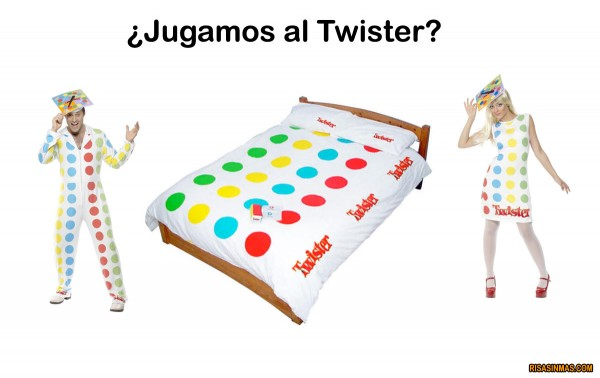 ¿Jugamos al Twister?