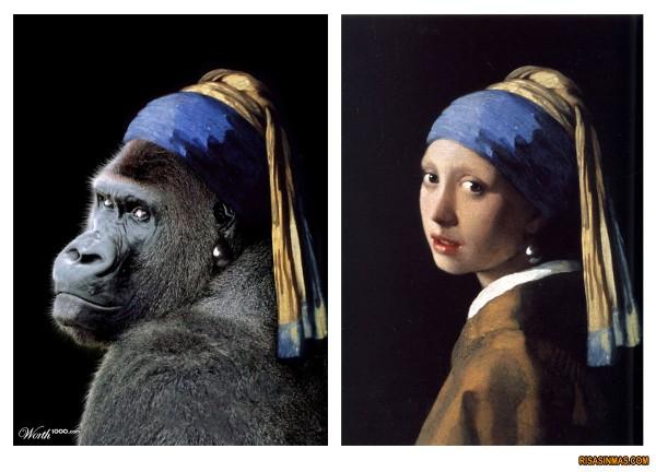La gorila de la perla