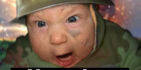 Bebé enfadado