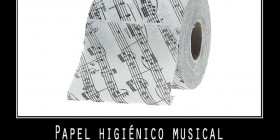 Papel higiénico musical