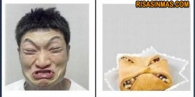 Parecidos razonables: Chino y galleta