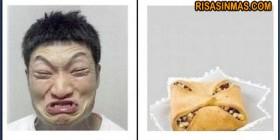 Parecidos razonables: Chino y galleta