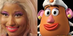 Parecidos razonables... Señora potato