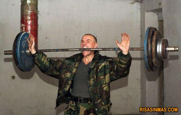 Entrenamiento del ejército ruso