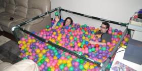 Piscina de bolas de salón