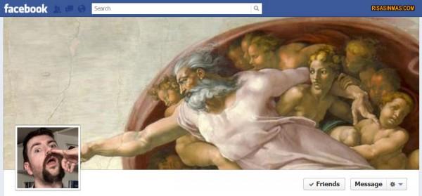 Portadas Facebook: La creación de Miguel Angel