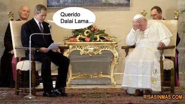 Querido Dalai Lama...