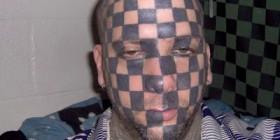 Tatuaje tablero de ajedrez