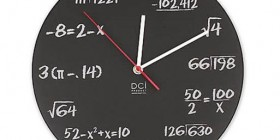 Reloj para matemáticos