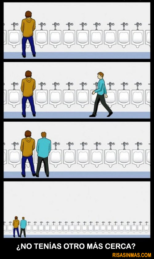 Baño de hombres