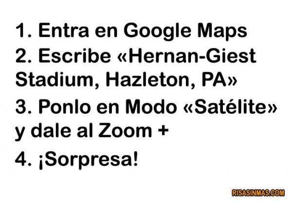 Curiosidades Google Maps