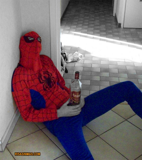 Spiderman visto en Rusia
