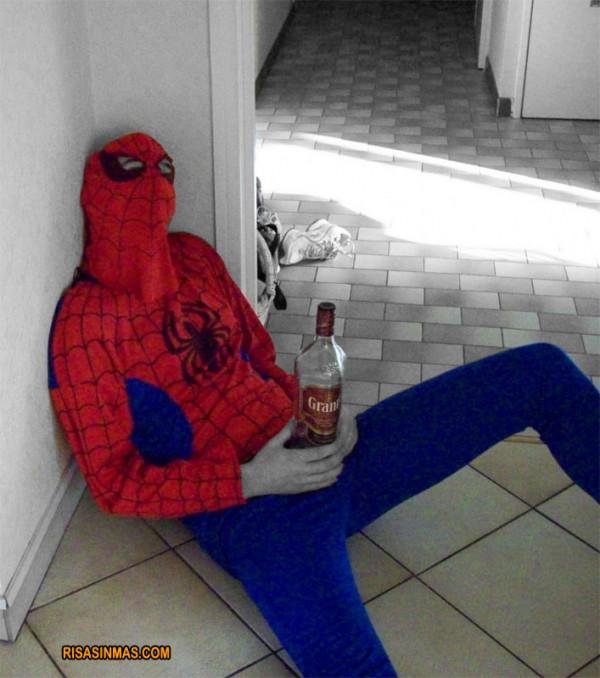 Spiderman visto en Rusia