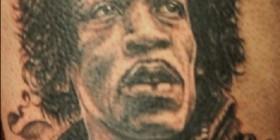 Tatuaje de... ¿Bob Marley?