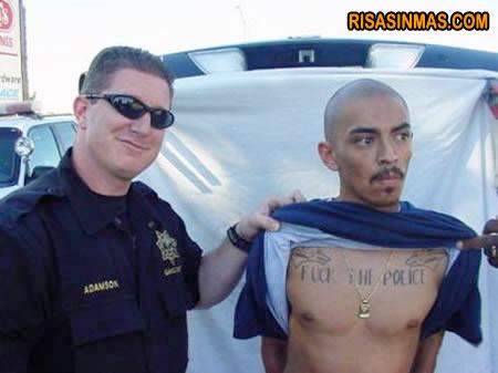 Tatuaje inapropiado