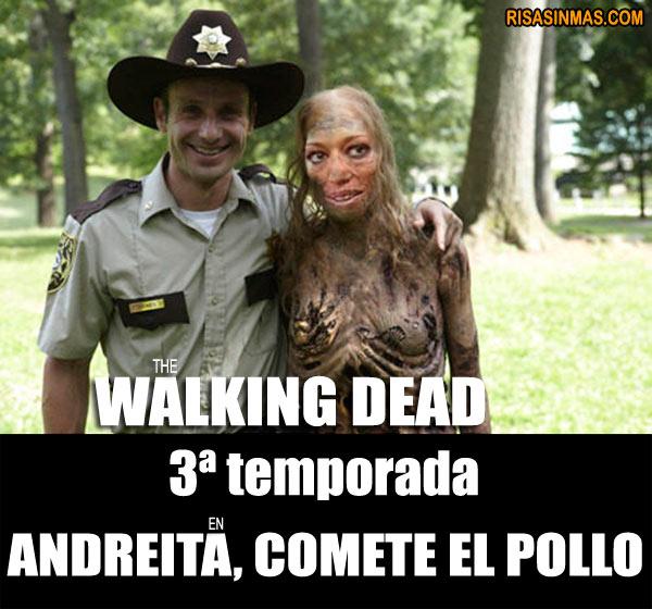 Belén Esteban en la tercera temporada de The Walking Dead