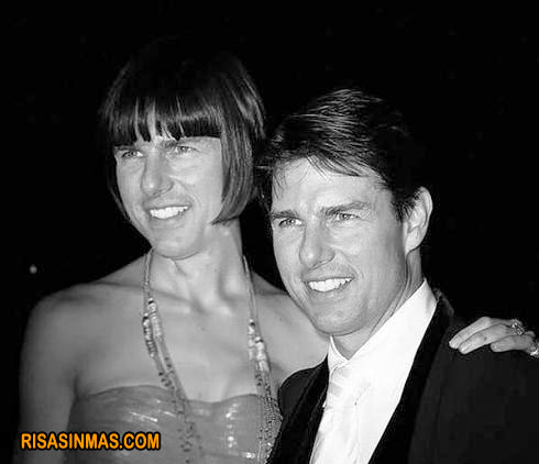 Tom Cruise sale con... Tom Cruise